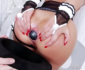Gaping Farting Anal Threesome Magic with incredibly hot anal adult movie stars