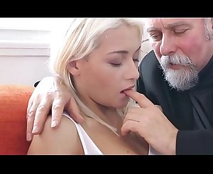 Old guys fuck young Teen - Fresh Beaver for them Compilation