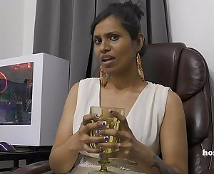 Mommy's Indian friend HornyLily flirts and pees on her subjugation for you pov