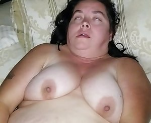 Sexy BBW Plays with Herself in Sold Panties