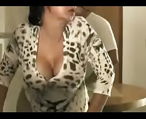 Young Son Fuck Sexy Japanese Stepmom
