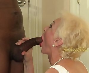 Seka's Interracial Sex with Hubby's Big Black Driver