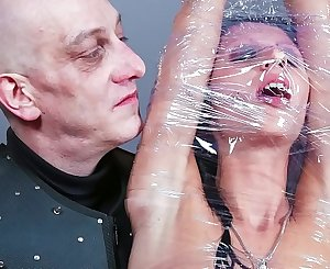 BADTIME STORIES - Sexy German sub July Sun gets clipped and toyed with in wild BDSM